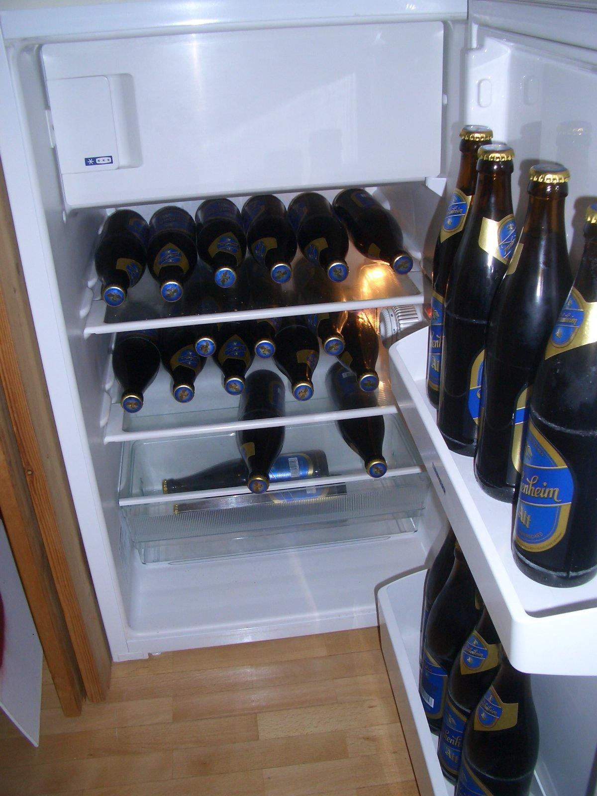 Des Wohnzimmerhosters Kühlschrank - Wohnzimmerhostblogger